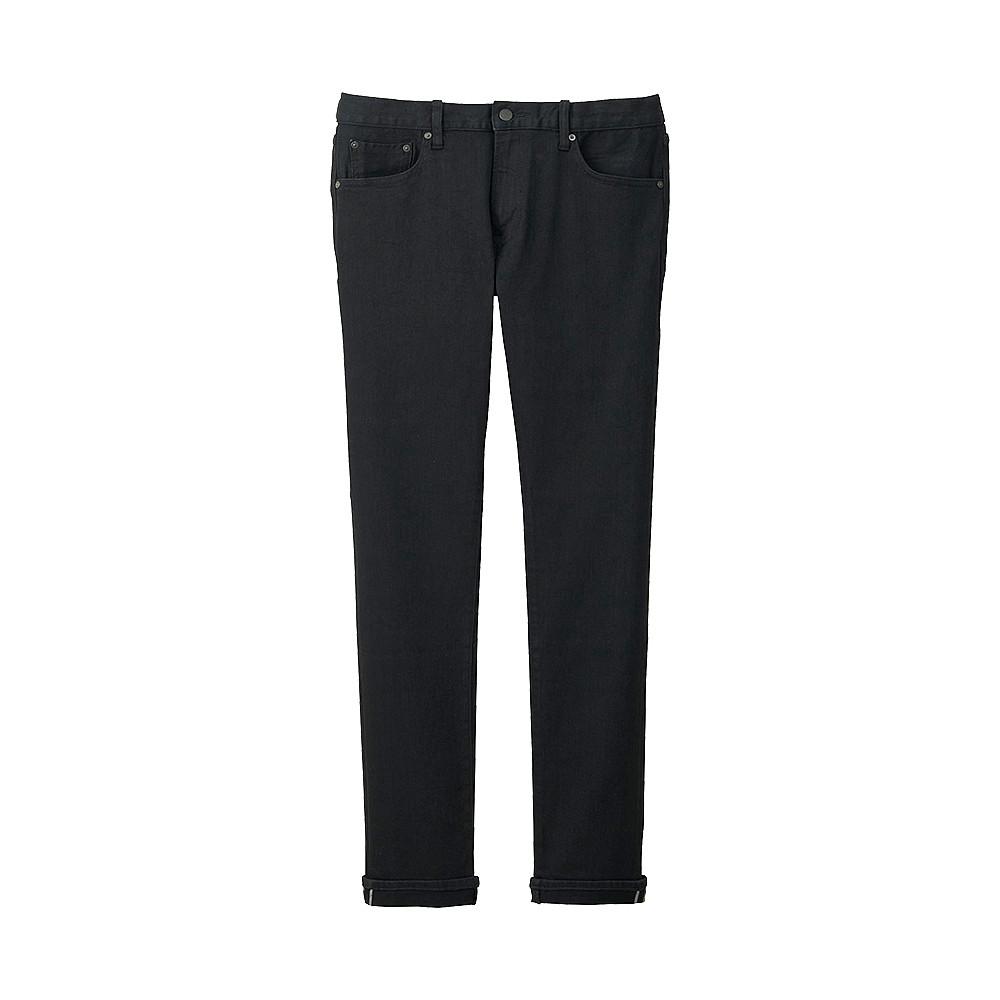 Джинсы Uniqlo Selvedge Slim Fit BLACK