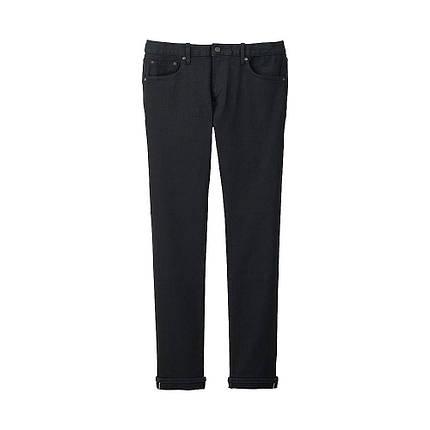 Джинсы Uniqlo Selvedge Slim Fit BLACK, фото 2