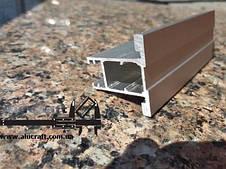 Раздвижная система | Межкомнатные перегородки | Дверь зеркало/стекло пескоструй, фото 2