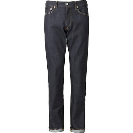 Джинсы Uniqlo Regular Fit Selvedge NAVY, фото 2