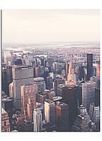 Фотокартина на холсте Утро мегаполиса, 40*50 см