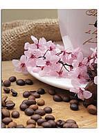 Фотокартина на холсте Натюрморт с кофейными зёрнами, 40*50 см