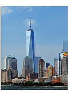 Фотокартина на холсте Нью-Йорк высотки, 40*50 см