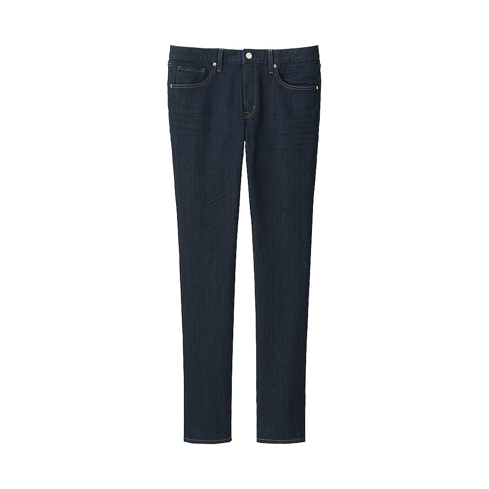 Джинсы Uniqlo Miracle Air Skinny Fit Trapered BLUE68