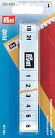 Измерительная лента с сантиметровой шкалой Фиксо для рабочего стола, самоклеящаяся 0,1мм x 19мм x 15