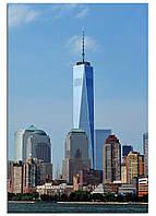 Фотокартина на холсте Нью-Йорк высотки, 40*60 см