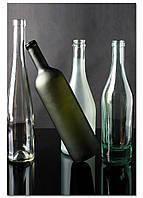 Фотокартина на холсте Натюрморт из бутылок, 40*60 см