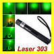 Мощная лазерная указка ЛАЗЕР Laser 303 green с насадкой лазер, фото 3