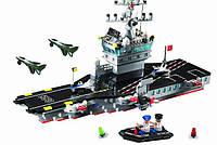 Конструктор Авианосец серии Боевые зоны Brick (826)