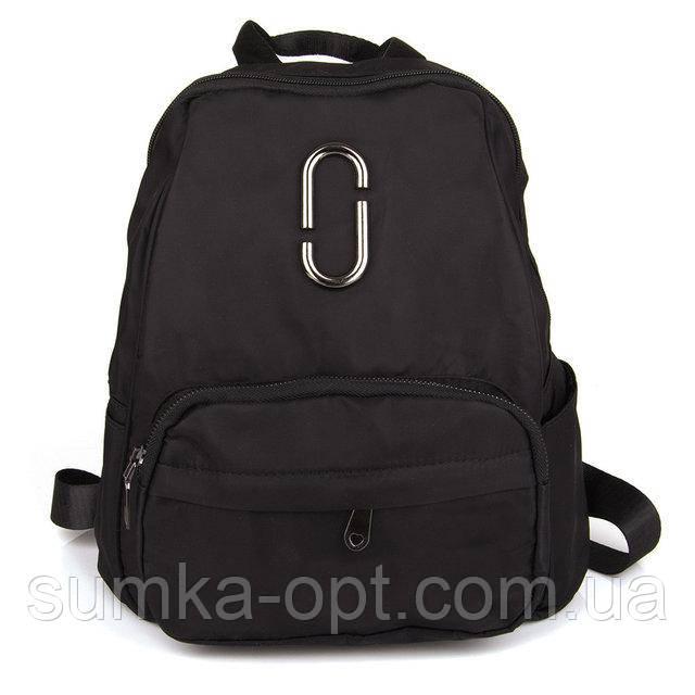 Городские рюкзаки кожзам Китай (черный)32*25