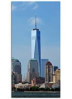 Фотокартина на холсте Нью-Йорк высотки, 50*100 см