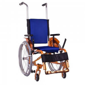 Инвалидная коляска детская активная складная ADJ Kids Ортопедическая подушка для коляски в ПОДАРОК.