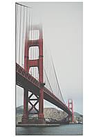 Фотокартина на холсте Золотые ворота, 50*100 см