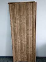 Дверь гармошка пластиковая глухая 805 вяз 810х2030х6мм