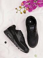 Черные кроссовки на шнуровке 25965, фото 1