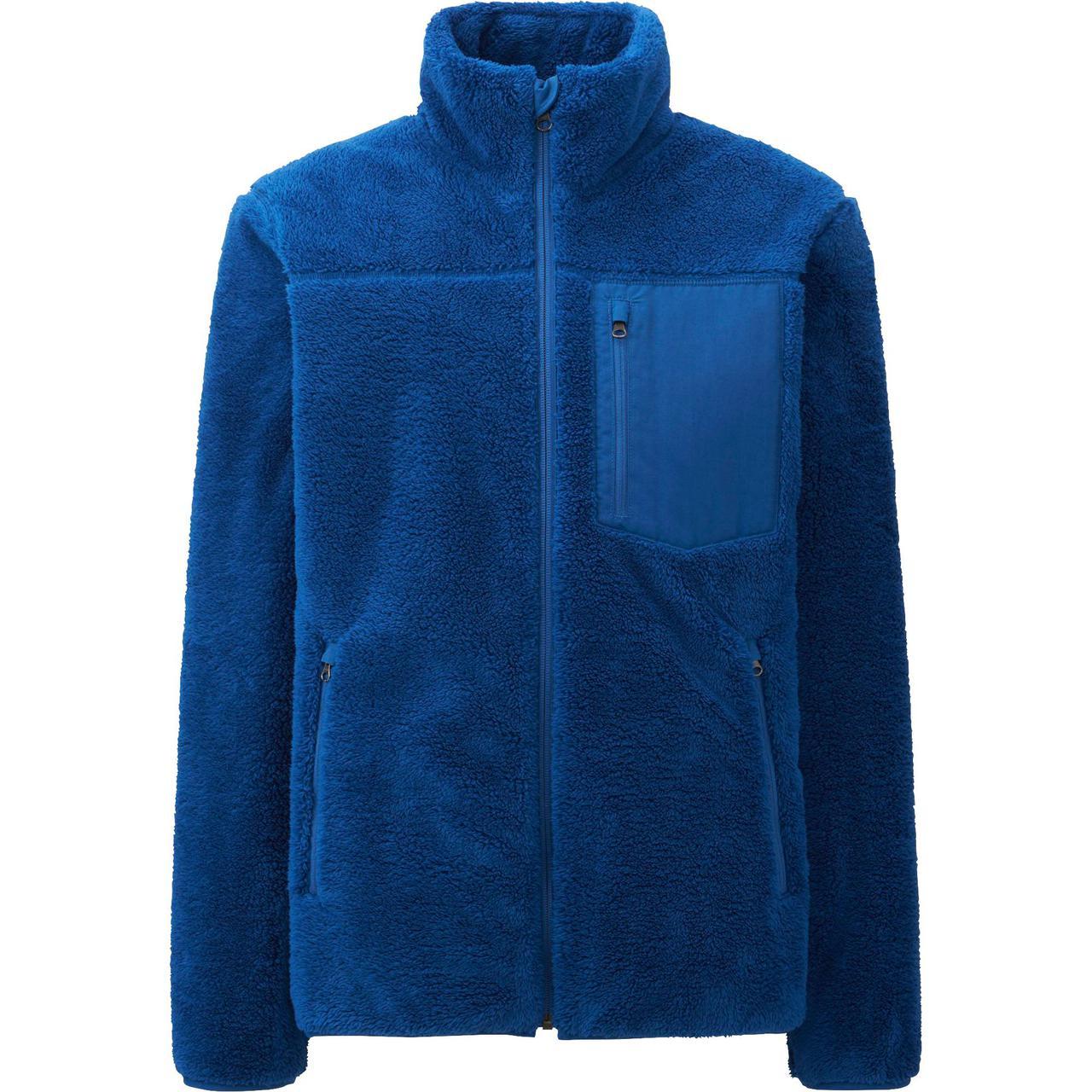 Кофта Uniqlo Men Wind Proof Fleece BLUE