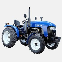 Трактор JINMA JMT404 (4х4, блок. дифференциал, колеса 6.50-16/11.20-24, ГУР., КПП 8+2)x2