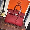 Сумка копия бренда Гермес качественная эко-кожа дорогой Китай красная