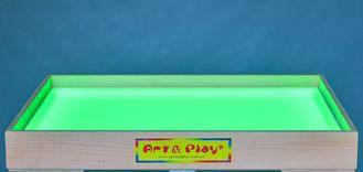 Планшет для песочной анимации 700Х500 мм (цветной свет) Ольха