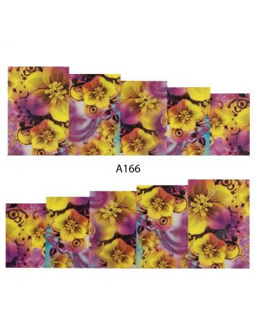 Слайдер-дизайн для ногтей A-166 6.2*5.2 см