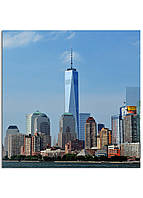 Фотокартина на холсте Нью-Йорк высотки, 50*50 см