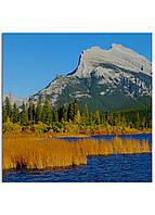 Фотокартина на холсте Горы Канада, 50*50 см