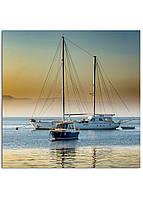 Фотокартина на холсте Яхта, 50*50 см