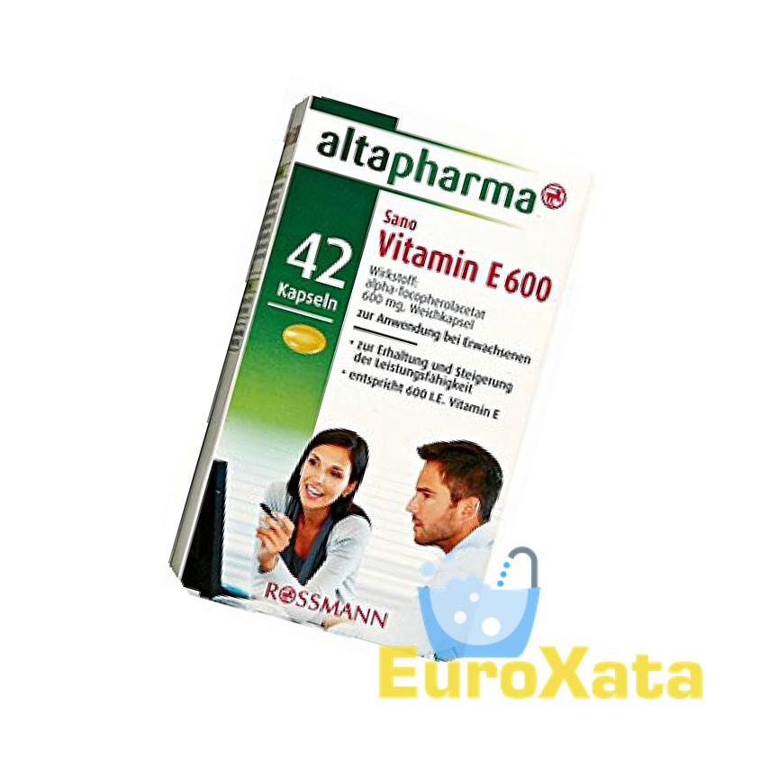 Витамин E 600 Altapharma 42 капсулы (Германия)