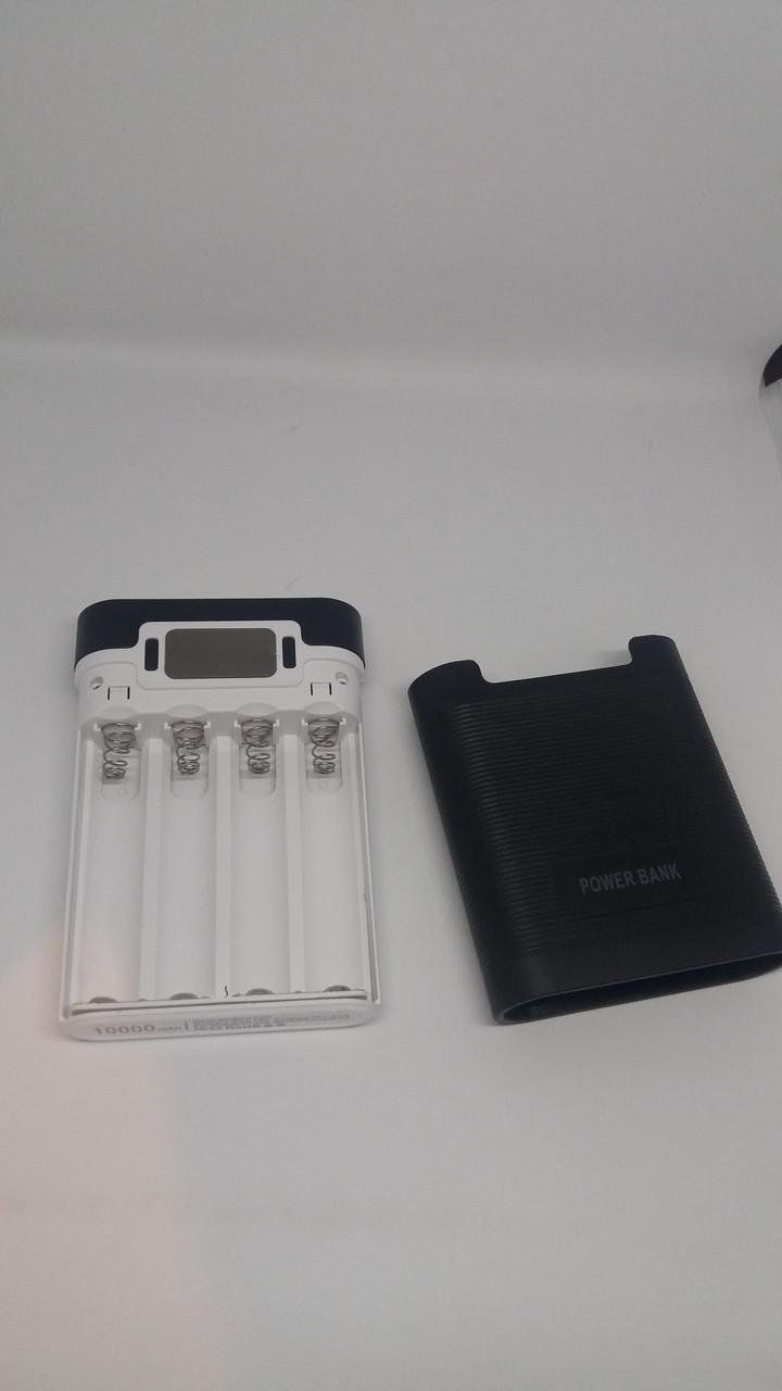 Корпус power bank.5В 2.0A бокс на 4X18650 с индикацией заряда и функцией UPS. Внешнее зарядное устройство