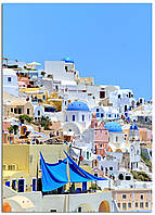 Фотокартина на холсте Греция, 50*70 см