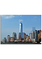 Фотокартина на холсте Нью-Йорк высотки, 50*70 см