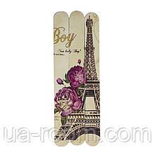 Набор пилочек для ногтей (3 шт.)  Париж Aise Line