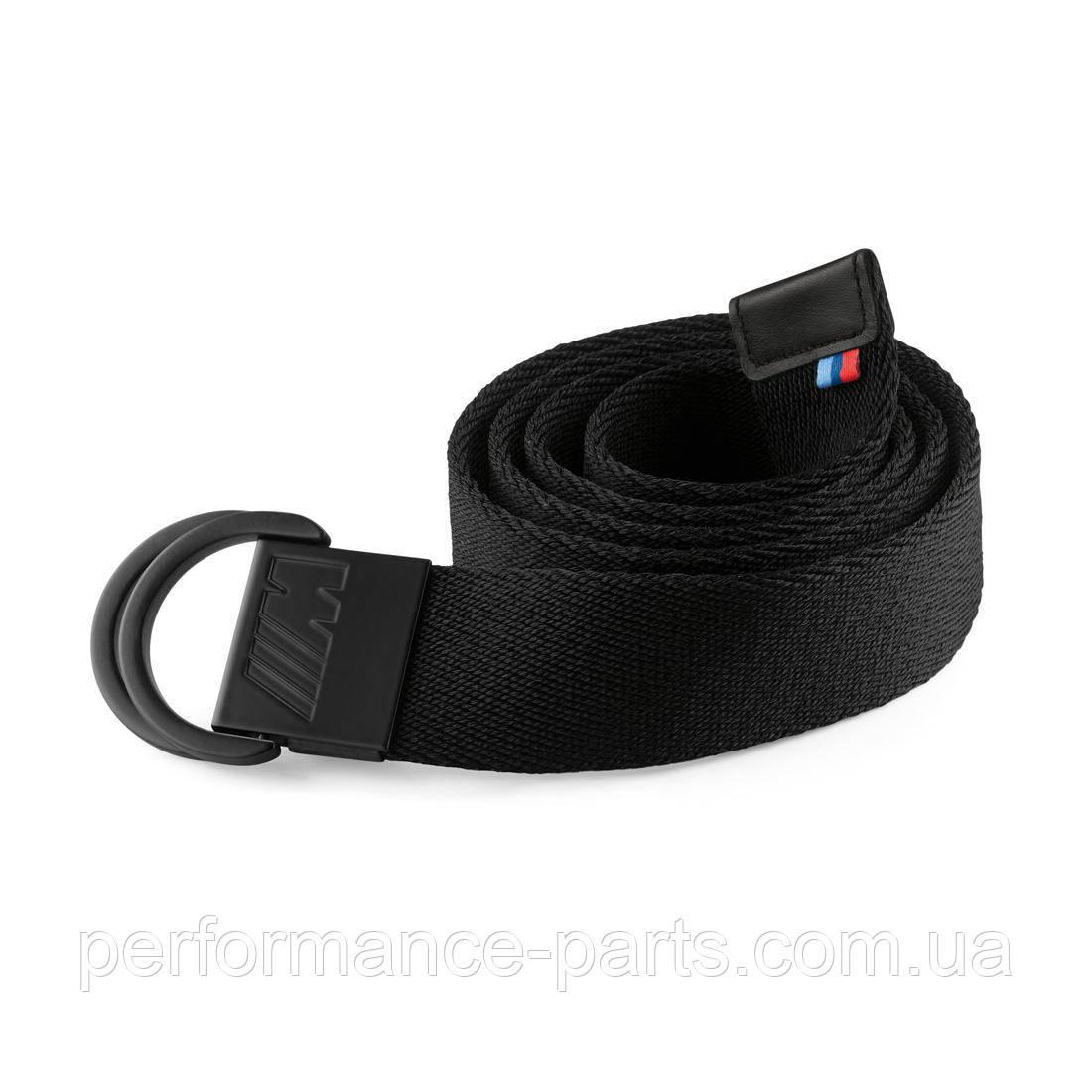 Текстильный ремень BMW M Belt, Unisex, Black, 80162410912