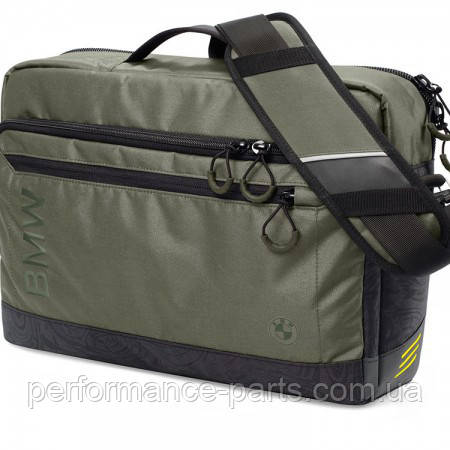 Сумка-мессенджер BMW Active Messenger Bag, Functional, Anthracite/Olive 80222446009