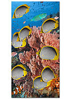 Фотокартина на холсте Рыбки, 60*120 см