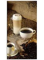 Фотокартина на холсте Кофе, 60*120 см