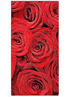 Фотокартина на холсте Розы, 60*120 см