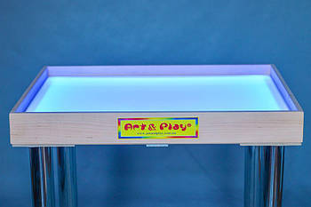 Стол для песочной анимации 700Х500 мм цветной Ольха