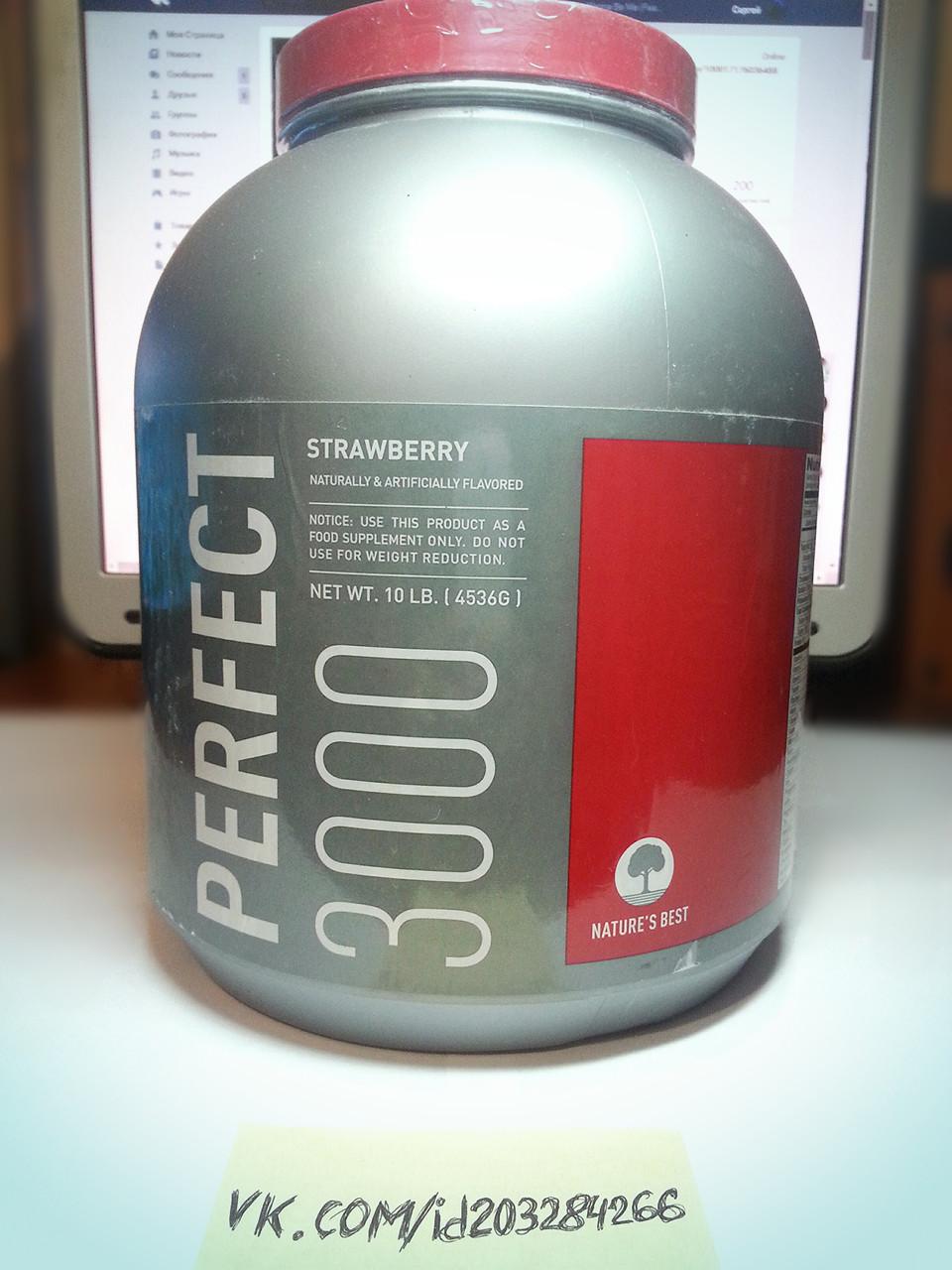 Гейнер Nature's Best IsoPure Perfect 3000 4536 г питание для набора массы