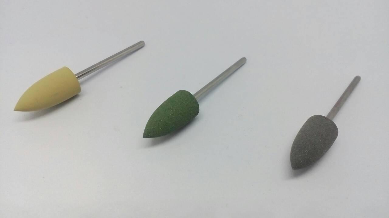 Полиры для композита (пластмасс)