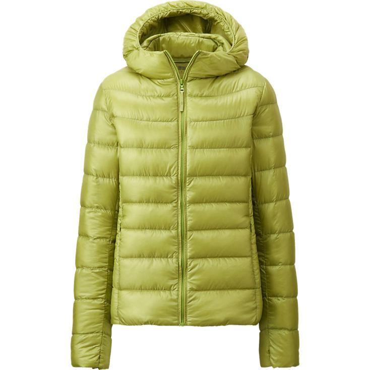 Куртка Uniqlo Women Ultra Light Down Hooded GREEN