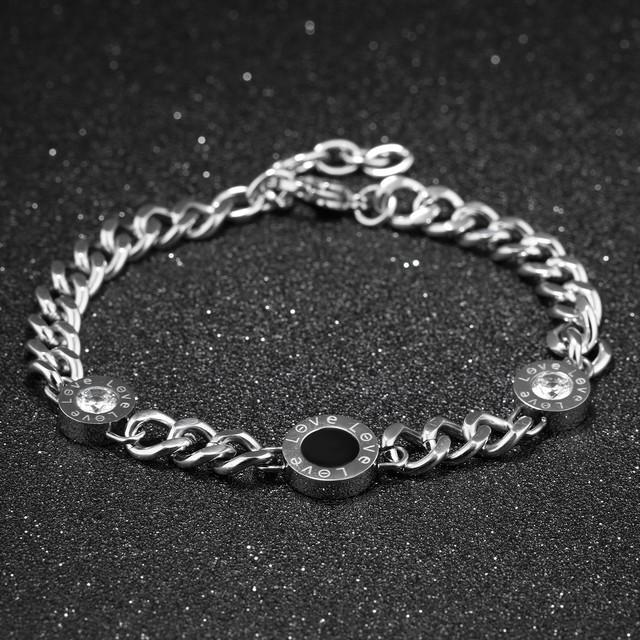 Женские браслеты из стали