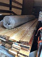 Террасная гладкая доска из сибирской лиственницы и профилированный поликарбонат