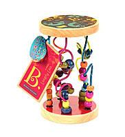 Развивающая деревянная игрушка РАЗНОЦВЕТНЫЙ ЛАБИРИНТ Battat (BX1155), фото 1
