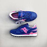 huge discount 64fa3 b845e Кроссовки Saucony Shadow Original Royal Peach Sneakers (Синие)