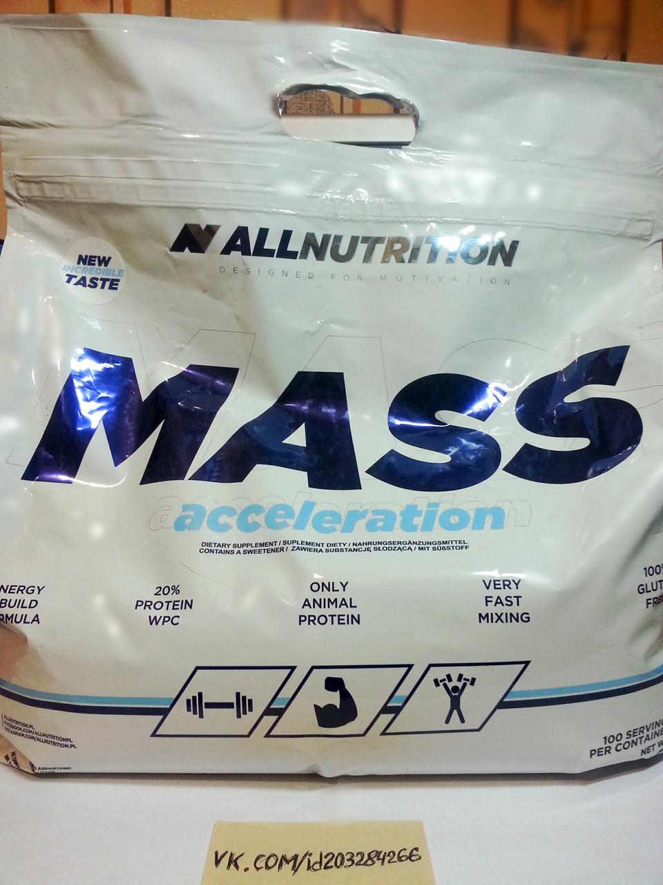 Гейнер, AllNutrition Mass Acceleration 7000г