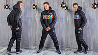 Зимний спортивный мужской костюм костюм Adidas №1151  рус, фото 1