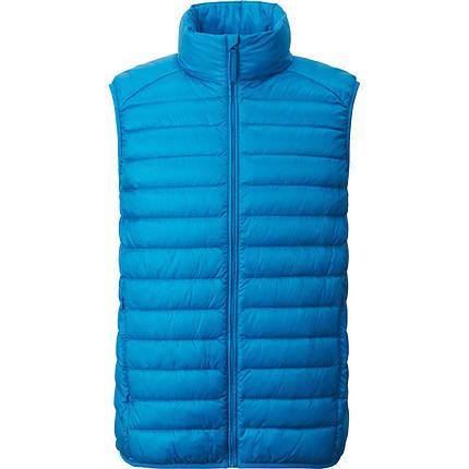 Жилетка Uniqlo men ultra light down vest Blue, фото 2