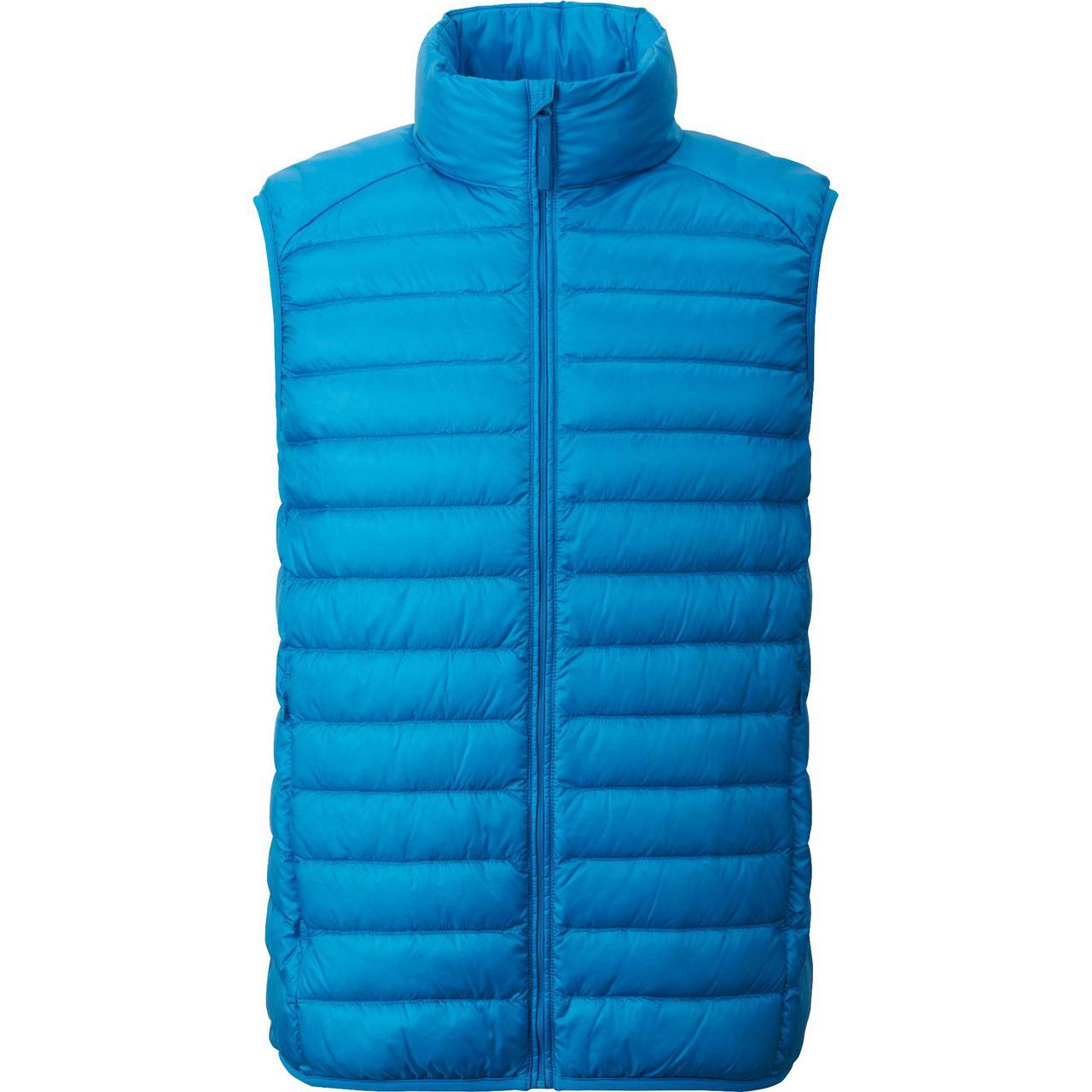 Жилетка Uniqlo men ultra light down vest Blue