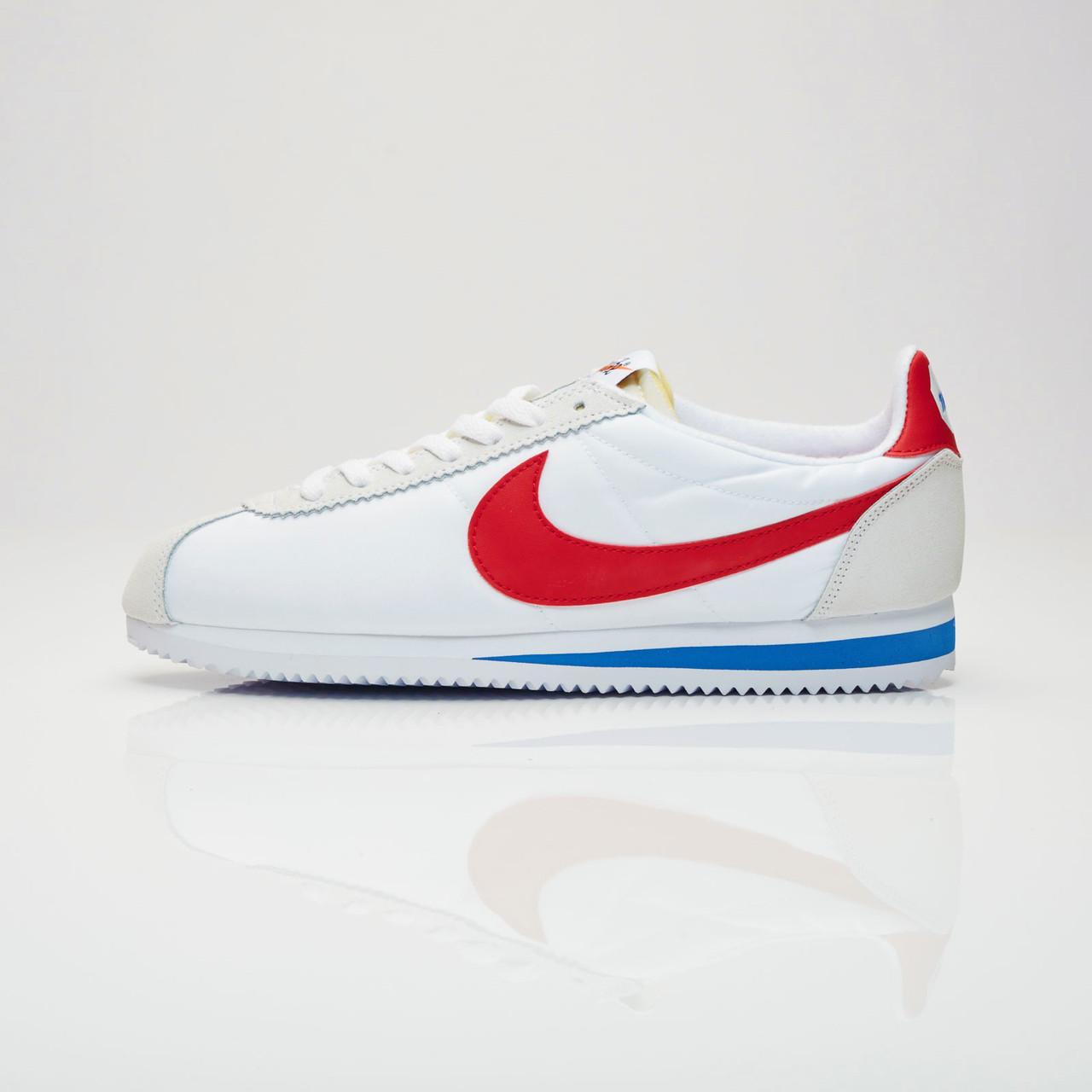Кроссовки Nike Classic Cortez Nylon (Белые)